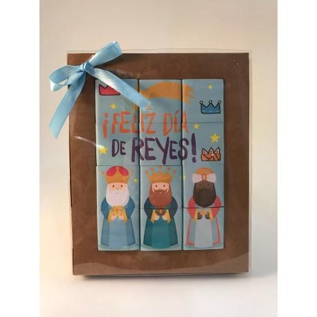 """Puzzle de chocolate- """"Feliz día de reyes"""""""