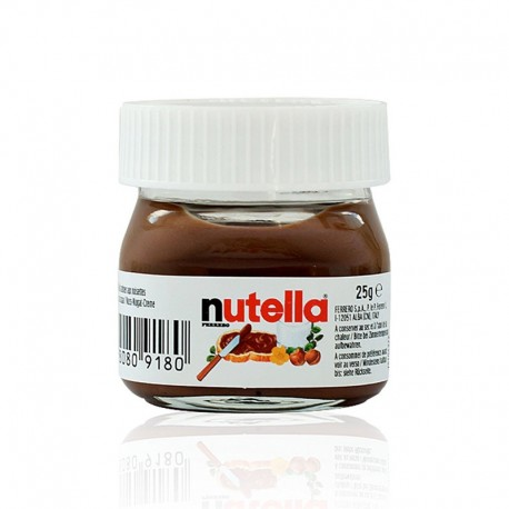 Mini bote de nutella