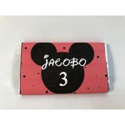 Chocolatina mickey