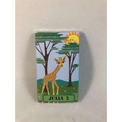 Chocolatina selva con jirafa