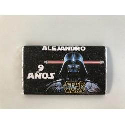 Chocolatina personalizada Star Wars