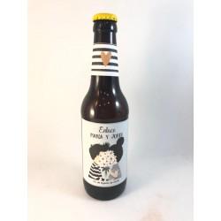 "Cerveza ""Bermeja"" boda personalizada"