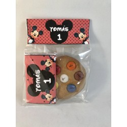 Pack chocolarina y maxi cookie mickey
