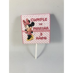 Piruleta cumpleaños Minnie