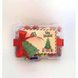 Caja gominolas/chocolates Árbol pequeña