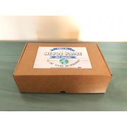 Caja de cartón craf con solapas
