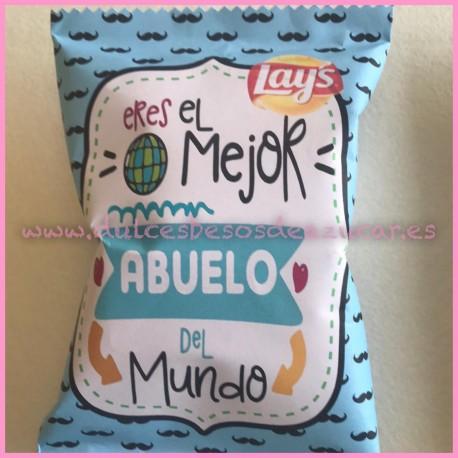 Bolsa Snack Personalizada DIA DEL PADRE- abuelo