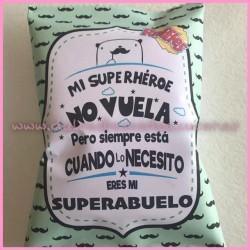 Bolsa Snack Personalizada DIA DEL PADRE 2- abuelo