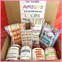 Caja regalo Amig@s