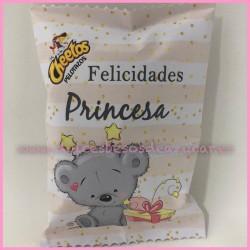 Bolsa Sanck Personalizada Felicidades Princesa