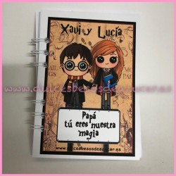 LIBRETA  PERSONALIZADA Harry Potter