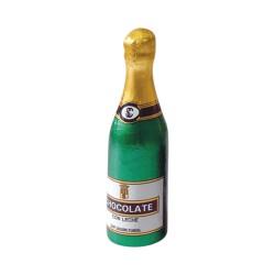 Botella de cava Benjamin de chocolate. 100gr