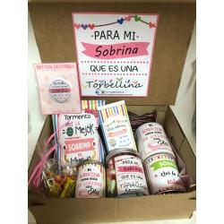 Caja regalo Sobrina/p