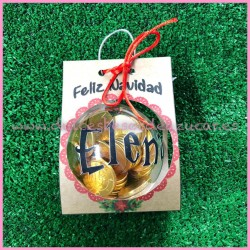 Bola de Navidad personalizada de Harry Potter
