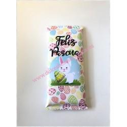 "Tableta chocolate Pascua 1 ""Feliz Pascua """