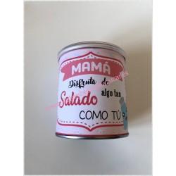 "Bote Pringles ""Mamá salada"""