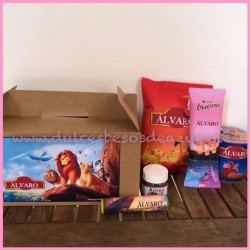 Caja regalo Picnic Rey León