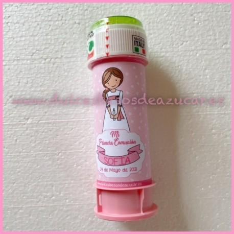 Pompero  personalizado niña comunion 2
