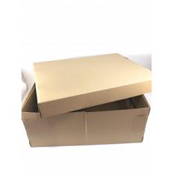 Caja de cartón craf con tapa