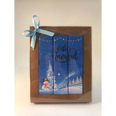 """Puzzle de chocolate- """"feliz navidad"""""""
