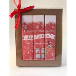 """Puzzle de chocolatinas- """"estas navidades te haré un regalo que no querrás devolver"""""""